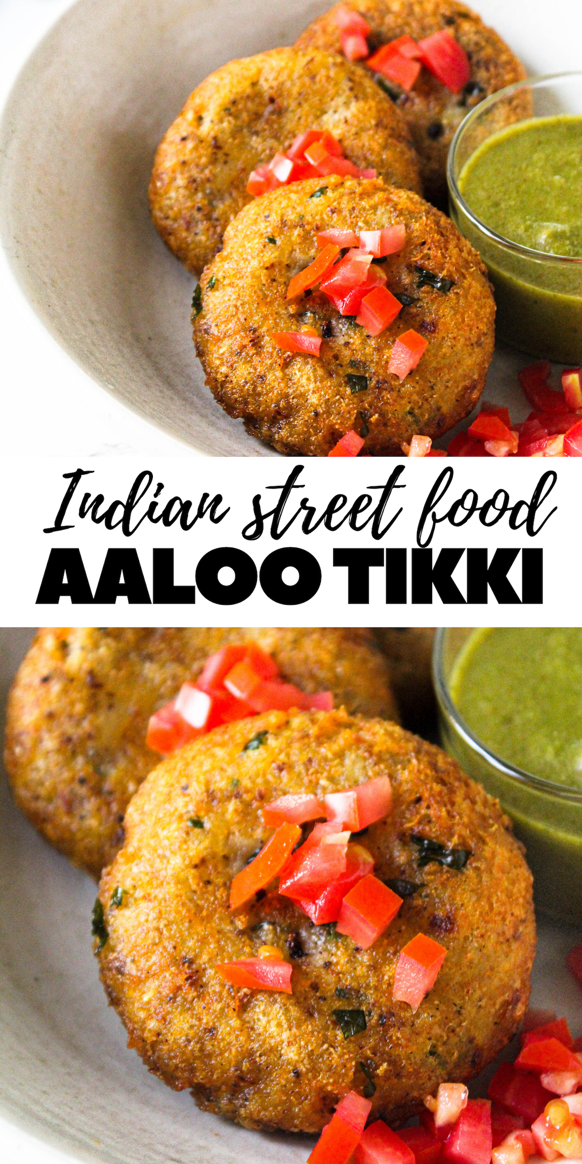 aaloo tikki indian street food the twin cooking project by sheenam muskaan recipe in on hebbar s kitchen recipes aloo tikki id=32019