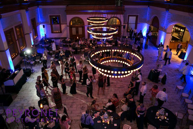 Ashton Depot, Fort Worth - Reception #FortWorthWeddings #Reception #Lighting #Dancing #Classic