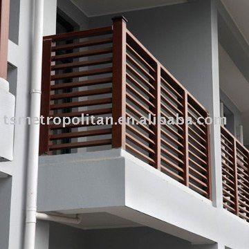 wpc balcony hand railing buy balcony hand railing