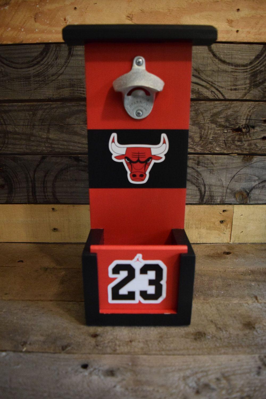 Chicago Bulls Bottle Opener Michael Jordan Edition Bottle Opener Design Bottle Opener Bottle Opener Wall