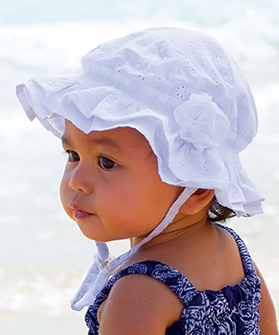 73dee5dbe This Millymook & Dozer White Agapantha Bucket Hat by Millymook ...