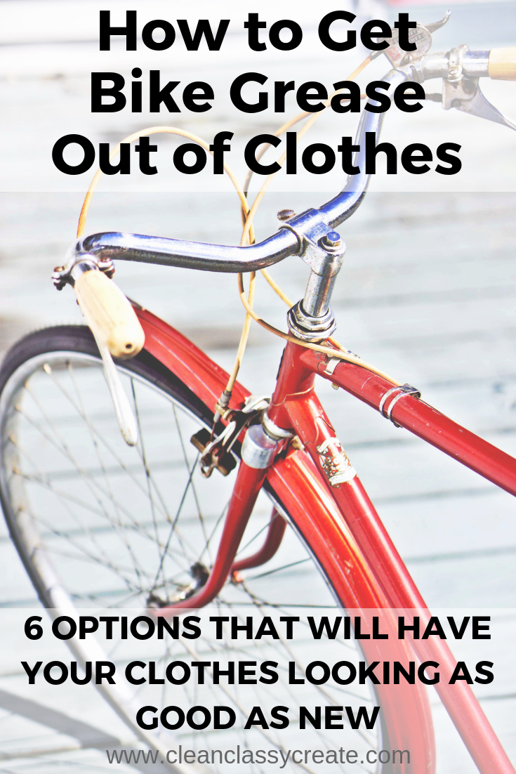 How To Get Bike Grease Out Of Clothes Grease Grease Stains