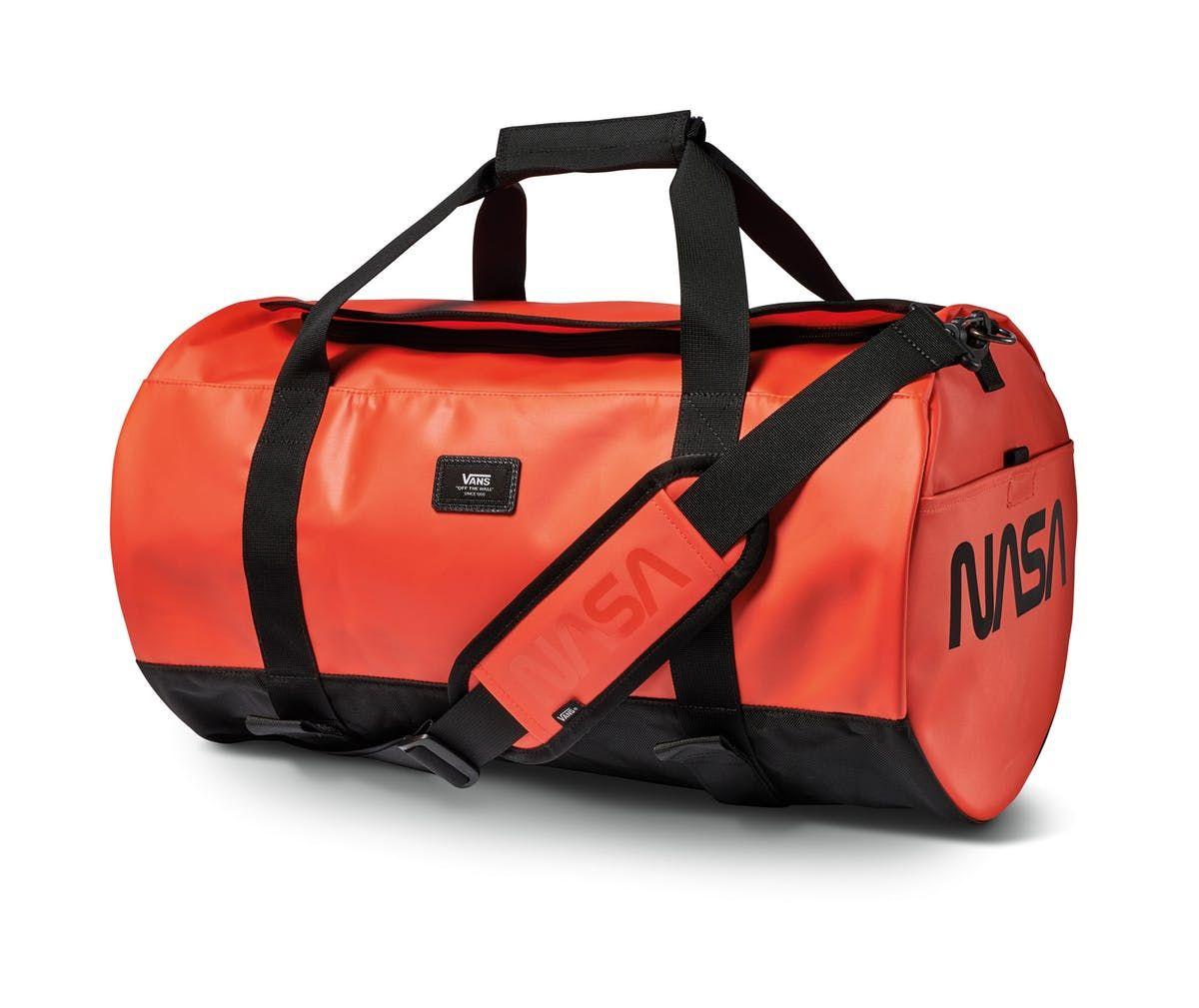 3944292b4c Space orange grind skate duffel bag by VANS X SPACE VOYAGER