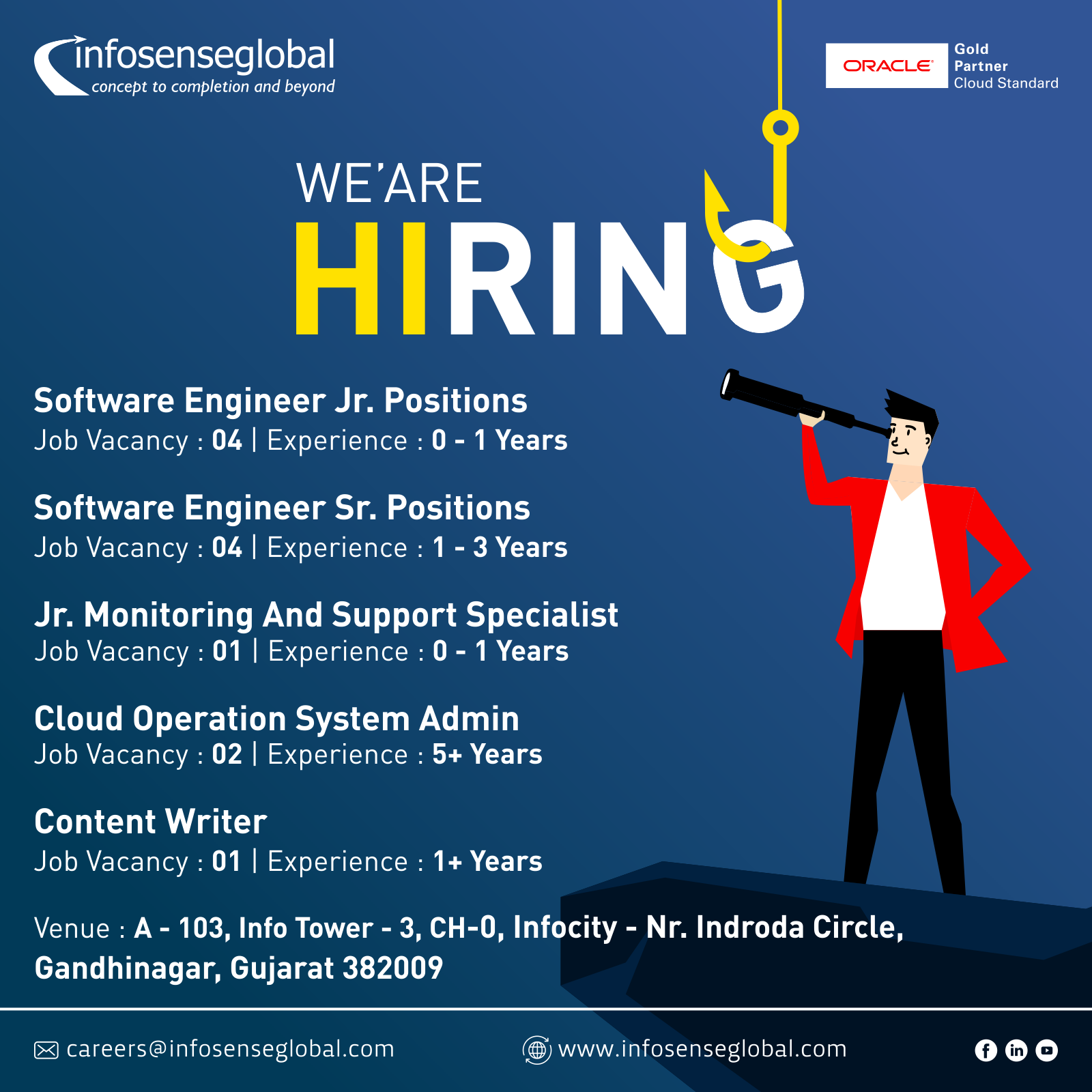 We Re Hiring For The Following Positions Admin Jobs Writer Jobs Software Engineer