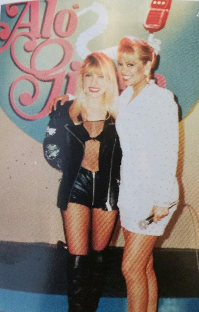 ¡Miren esta foto, es de hace 20 años! #Gisela #Yuri #ElGranShow