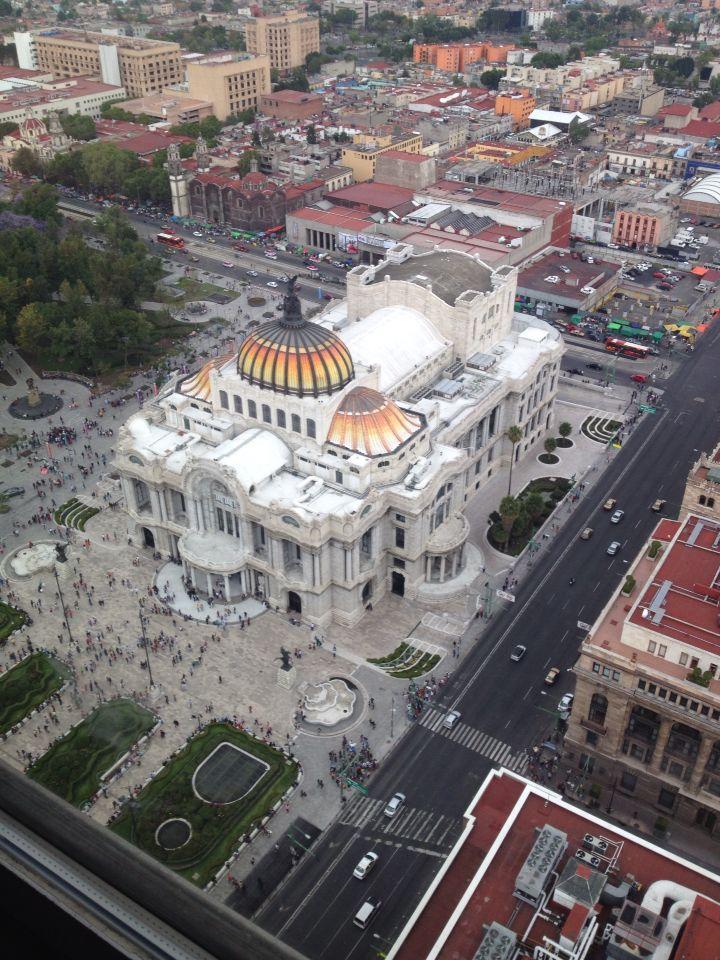 Bellas Artes, México.