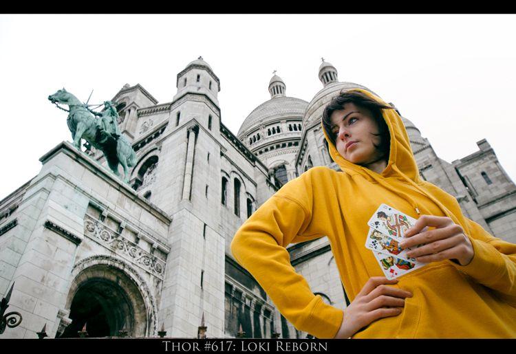 Kid Loki: Trickster of Montmartre by Green-Makakas.deviantart.com on @DeviantArt