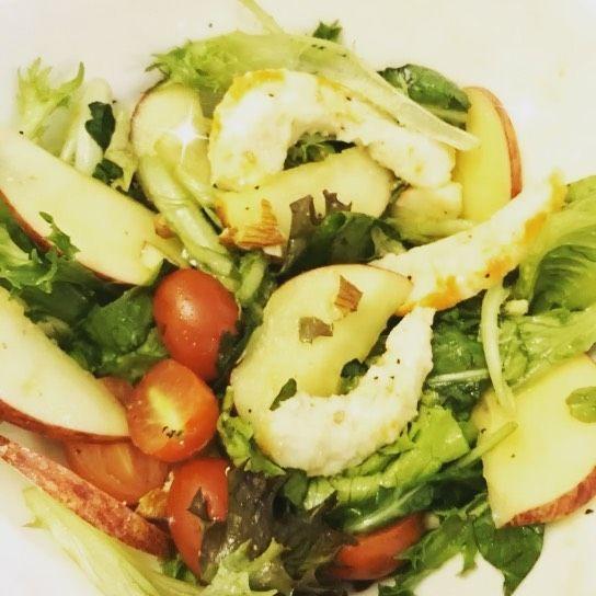 🥗Homemade Vegan Prawn Salad 🥗 🍽 😇