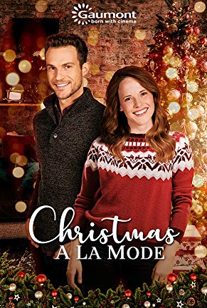 Katie Leclerc and Ryan Cooper in Christmas a la Mode (2019