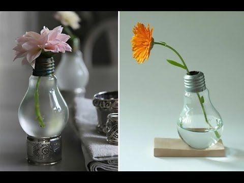 Idées de recyclage avec des ampoules