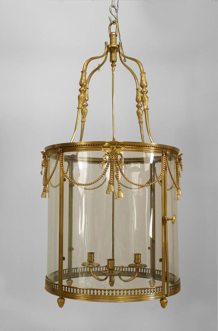 French Louis Xvi Lighting Lantern Bronze Dore French Antique Lighting Antique Lighting Old Lantern