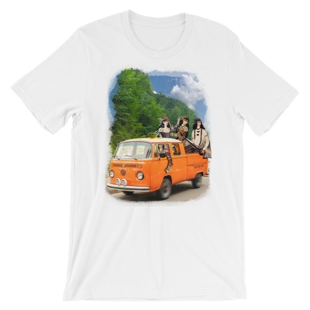 Royal Road Trip Unisex Short Sleeve T-Shirt