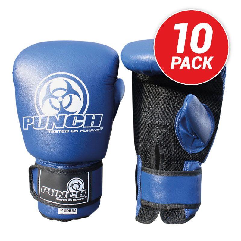 10 Pack Urban Bag Mitts - Blue - Punch® Equipment 0e7daa1caacd6