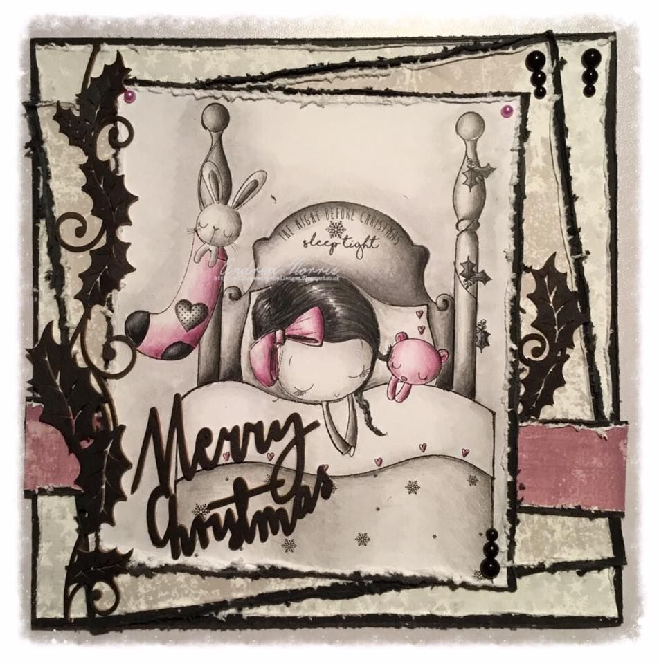 DT Inspiration - The Night Before Christmas - http://alldressedupchallenges.blogspot.co.uk/