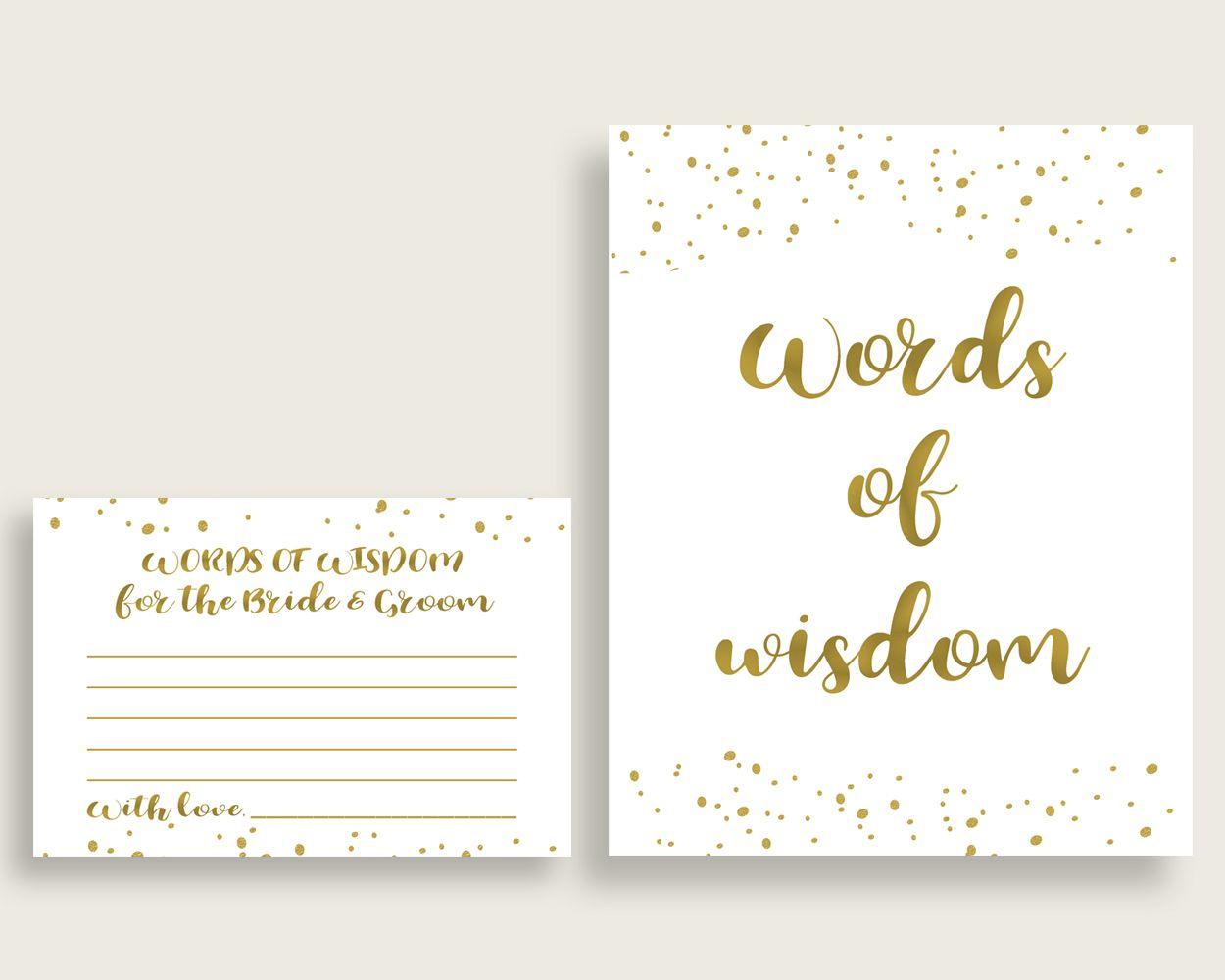 words of wisdom bridal shower words of wisdom gold bridal shower words of wisdom bridal shower gold words of wisdom gold white paper g2znx bridalshower