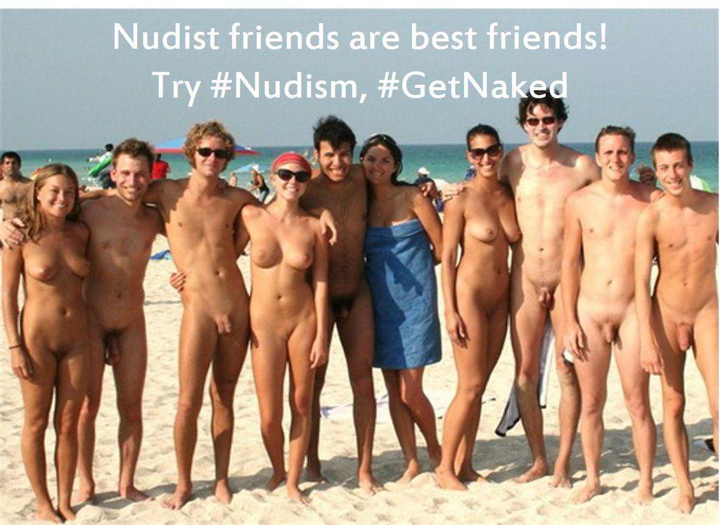 Nudist naturist nude bare naked