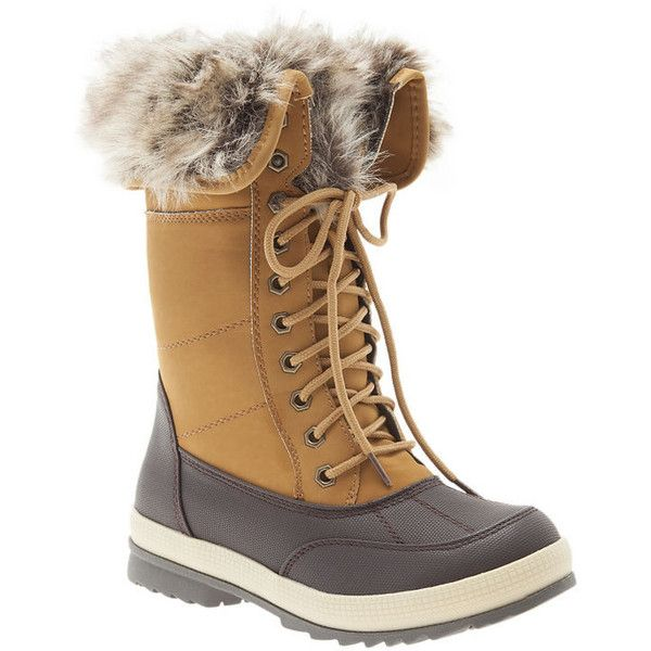 Lane Bryant Fur lined winter boots