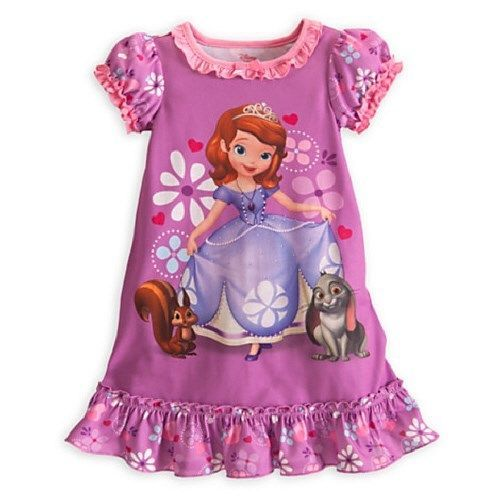abd0d6ff55 NWT Girls Disney Sofia the First Nightgown Size 2 3  Disney  Nightgown