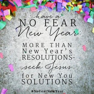 Have a No Fear New Year