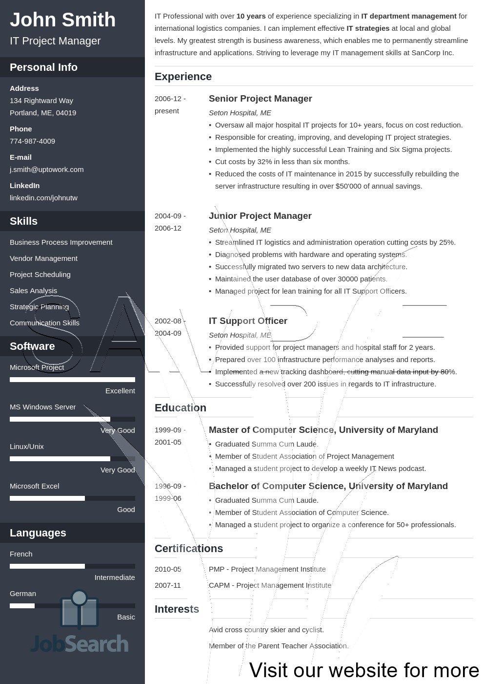 Resume Format Video Editor , editor format resume