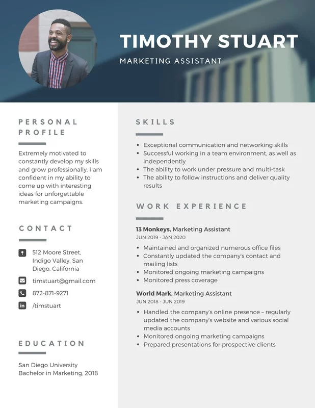 resume templates Google Search in 2020 Resume template
