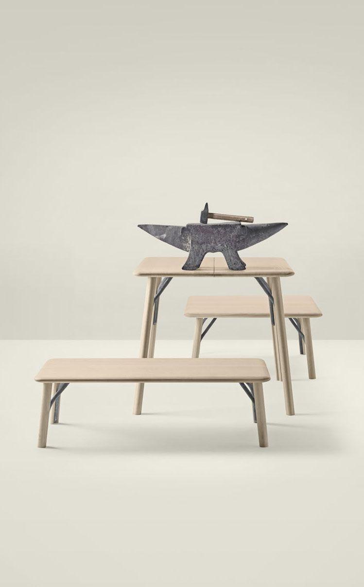 The Kea Collection In Solid Oak And Wrought Iron Design Iratzoki Lizaso Meuble Contemporain Mobilier De Salon Mobilier Design