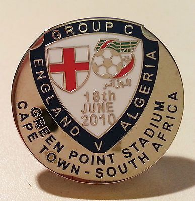 2010 #world cup - england v algeria in cape town - #match #badge - freepost,  View more on the LINK: http://www.zeppy.io/product/gb/2/162181220606/