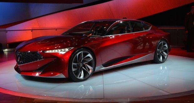 Salon De Detroit L Acura Precision Concept En Images Ecolo Auto Car Acura Car Salesman