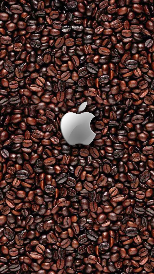 Coffee beans iPhone wallpaper | iPhone Wallpapers | Pinterest ...