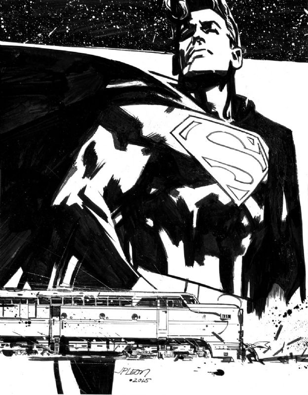 Superman by John Paul Leon