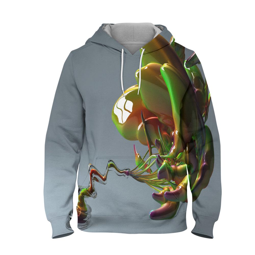 Abstract Art Work Hoodie 3D Printed Pullover Hoodie