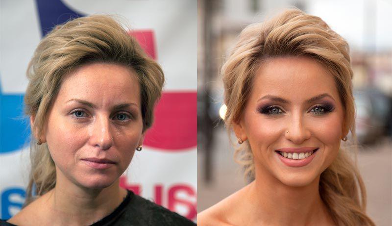 """Tutte le donne possono sembrare delle star. È questo il messaggio del make up artist russo Vadim Andreev che ha ideato il progetto """""""