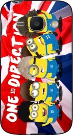 Minions mashup One Direction 1D Hoesje voor Samsung Galaxy Ace 3 S7272