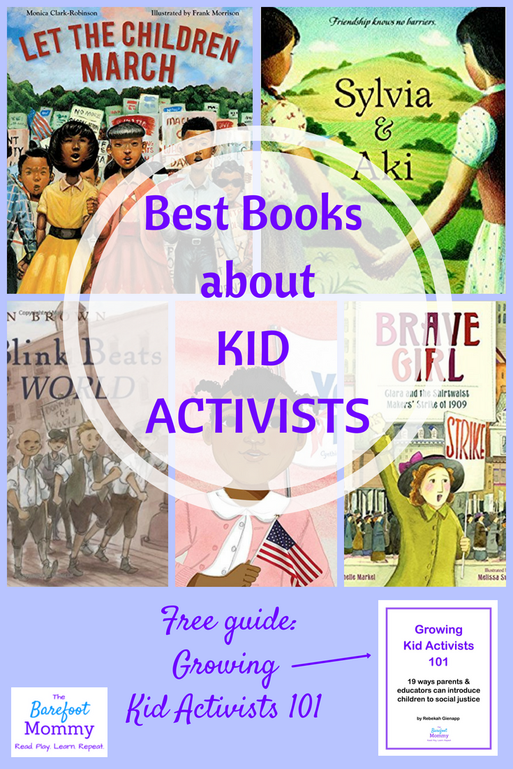 5 Kid Activists In American History The Barefoot Mommy Audio Books For Kids Social Justice Education Books