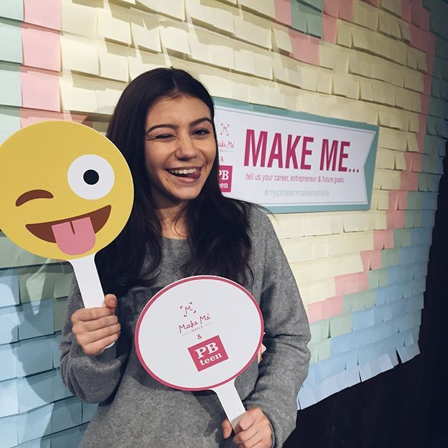 G. Hannelius Debuts Her Make Me Nails Wraps at Pottery Barn Teen ...