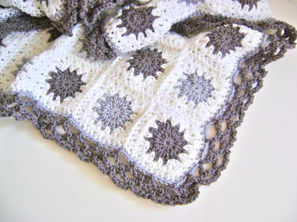 Border | Crochet | Pinterest | Manta de lana, Manta y Lana