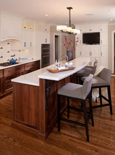 Kitchen Island Breakfast Bar Counter Design Pictures Remodel