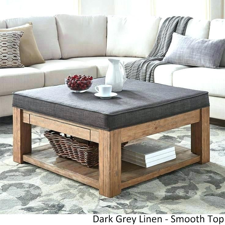 Coffee Table Ottoman Combo Exotic Ottomans How To Build A Storage
