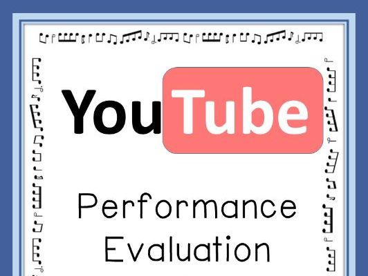 MUSIC Performance Evaluation and Analysis Sheets Music teachers - performance evaluation