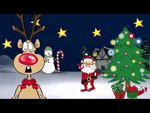Chanson De Noel Le Petit Renne Au Nez Rouge Youtube Chanson De Noel Histoire De Noel Noel