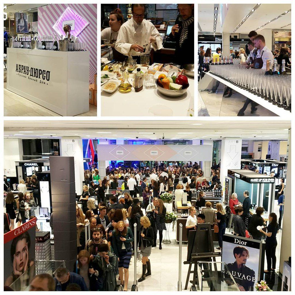 VOGUE Fashion Night Out , 3th september, Tzvetnoy shopping centre