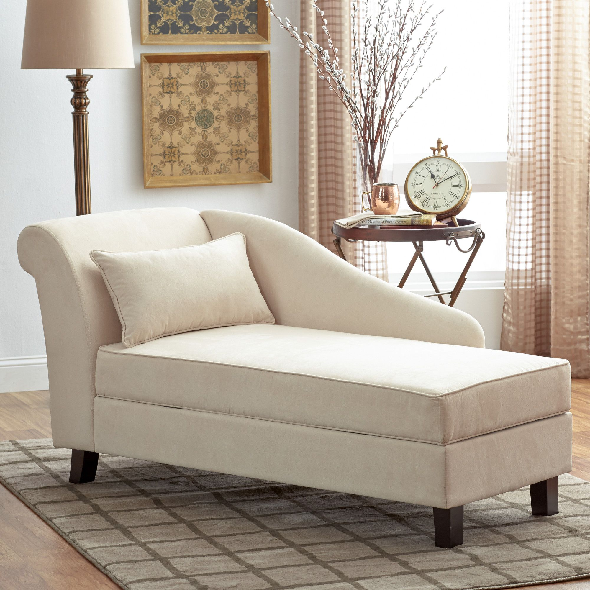 Youu0027ll Love The Verona Storage Chaise Lounge At Birch Lane   With Great  Deals
