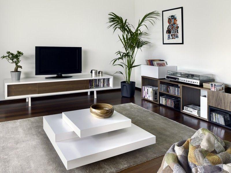 Wonderland slider. tv audio meubel low slider. dit lage design tv