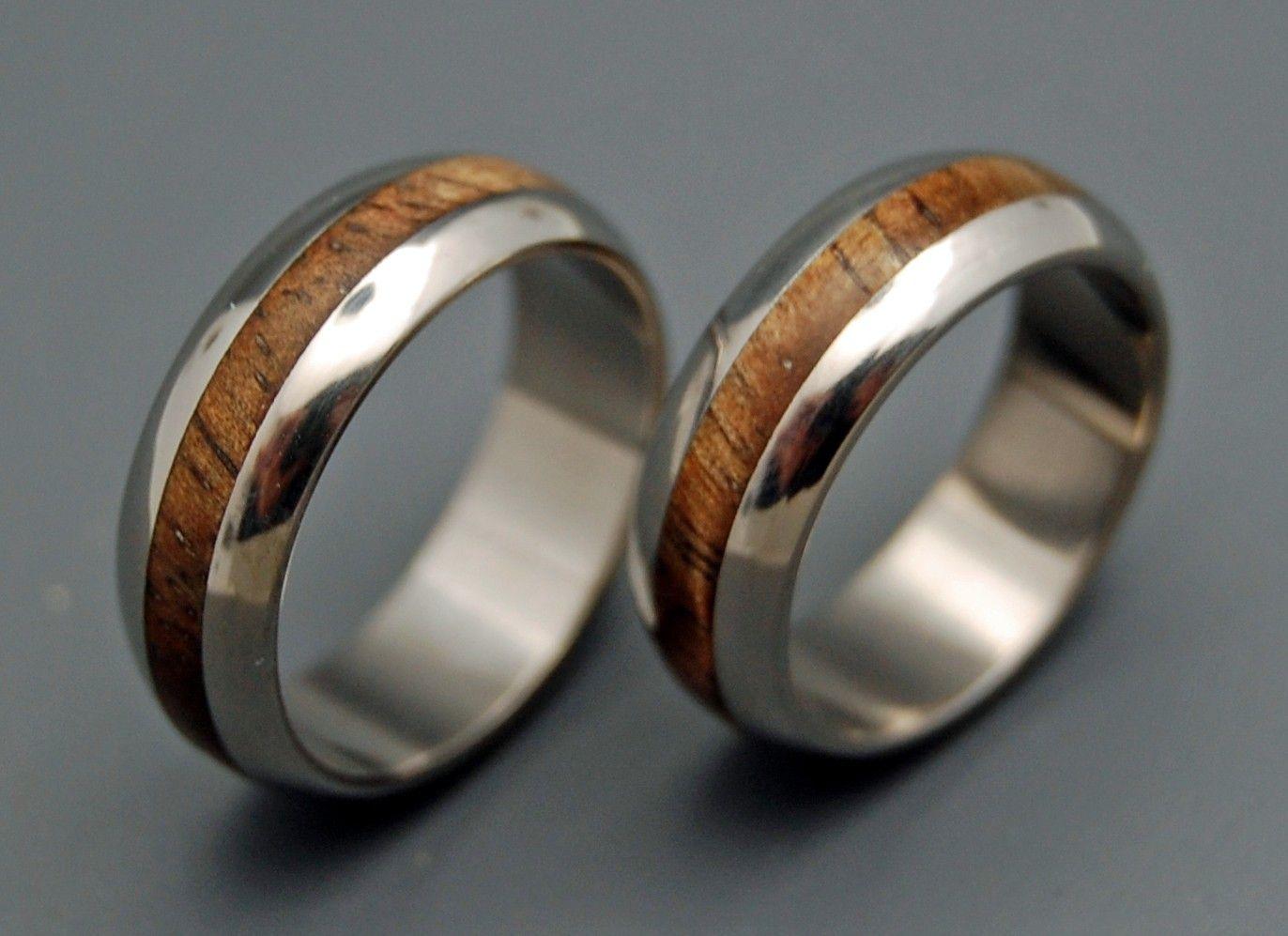 Wedding ring titanium rings wood rings titanium wedding ring