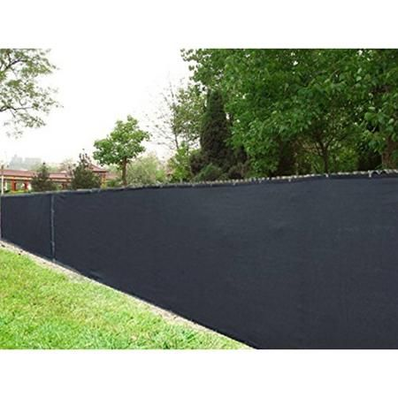 Superior Aleko Privacy Mesh Fabric Screen Fence With Grommets   6 X 50 Feet   Black    Walmart.com