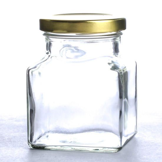 Glass Jar With Lid Decorative Containers Kitchen And Bath Home Decor Glass Jars Glass Jars With Lids Jar