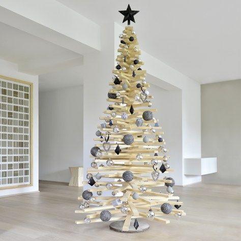 diy weihnachtsbaum aus holzlatten mele kalikimaka pinterest weihnachtsbaum baum und. Black Bedroom Furniture Sets. Home Design Ideas