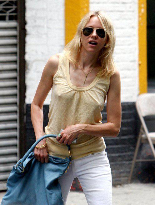 No Bra Celebrities Nips Pinterest Naomi Watts