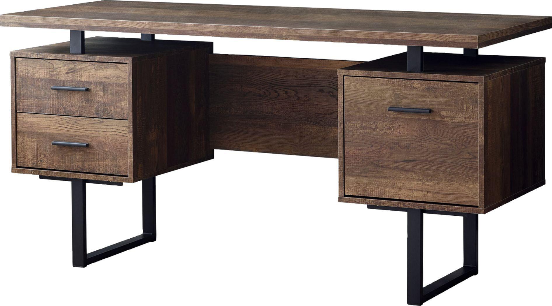 Wisterwood Brown Desk Office Desk For Sale Dark Wood Desk Home Office Furniture