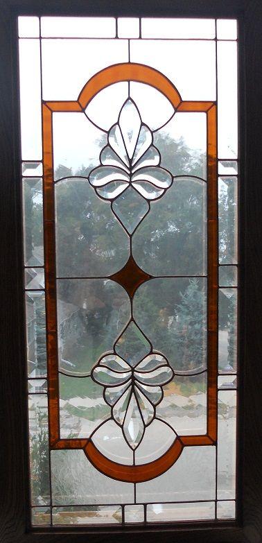 Amber Stained Glass Cabinet Door Studio One Art Glass Pinterest